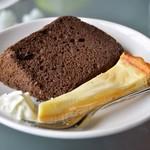 隠れ家カフェ清ちゃん - 本日のケーキ