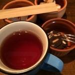 35019150 - デザートと紅茶