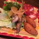 35019156 - 3種の前菜盛り合わせ+400円