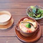 食堂カフェ ユズノハ - 野菜ドリア