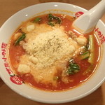 太陽のトマト麺 - チーズラーメン