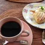 チェルシーガーデン - コーヒーとアップルパイ