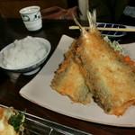 魚作 - カマスフライ定食