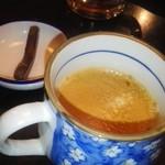居酒屋 大河 - 食後のサービスのホットコーヒー