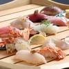 Kappousushiichi - 料理写真:前日予約で極握りをご堪能