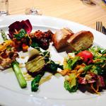 TENOHA&STYLE RESTAURANT - 野菜プレートのランチ