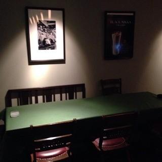 大人の雰囲気接待等にオススメのテーブル席