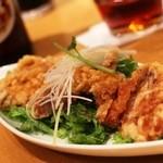 鼎泰豐 - 油鶏林 お野菜がタップリです。これでしろい御飯でもいいくらい