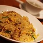 鼎泰豐 - 〆は豚肉チャーハン。