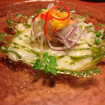 inZONE TABLE - 魚のカルパッチョ