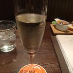 35038634 - 樽生スパークリングワイン(¥450→250)
