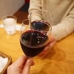 イタリアン酒場 きむらさん家 - ノンアルワインで乾杯♪