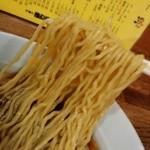 萬友亭 - 料理写真:ラーメン 麺リフト
