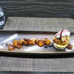 Calme Elan 神楽坂 - 自家製柚子アイスとプラリネアイスのデセール