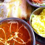 インドレストラン&バー マタ - ランチパスポート。キーマカレー。チーズナン。