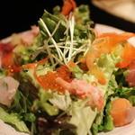 薩摩魚鮮水産 - まぐろと錦江湾直送鮮魚サラダ