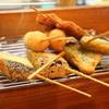 串あげ 万福 - 料理写真:うずら、なす、ししとう、豚串