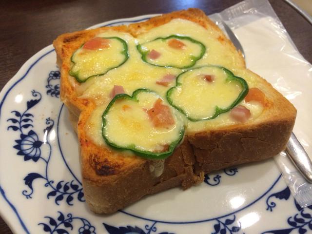 丸美珈琲店 - ピザトースト