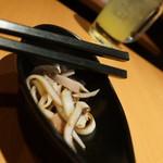 蕎麦鳥 - イカ胡麻和え