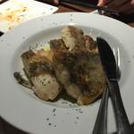 THANK YOU - 長崎産天然真鯛のポワレ。香草ビネガー風味。