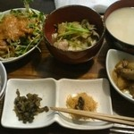 KUKURU - 丹波産&奈良産有機野菜使用 一汁三菜