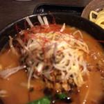三ツ矢堂製麺 - 特製黒マー油入り味噌つけめん