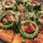石嶺食堂 - ゴーヤーピザ