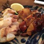 石嶺食堂 - 焼きソーキ