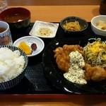 覇王樹 - 料理写真:チキン南蛮定食
