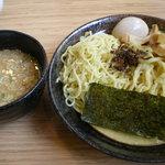3506597 - つけ麺(味玉入り)。