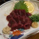 ひごつ堂 - 鹿肉の刺身