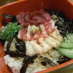 ひごつ堂 - 石焼キーマカレー(生卵つき)