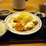 驛亭 - チキン南蛮定食 730円