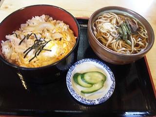 若松 - 親子丼セット ¥1000(込)