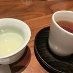35062290 - ほうじ茶と緑茶