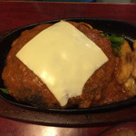 35062769 - チーズハンバーグ定食
