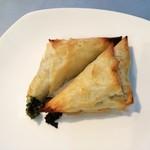 スパルタ - ほうれん草とフェタチーズのパイ