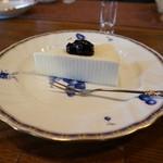 銀の匙 - レアチーズケーキ