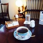 自家焙煎 とがし喫茶室 - カップも素敵でした〜