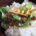 楠川 - 柳川鍋 on the rice