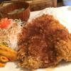 Mar's Cafe - 料理写真:ビッグなチキンカツプレート
