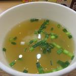 福岡薬院 タニタ食堂 - 大根の味噌汁。 これまた薄味仕立て。