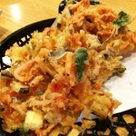 35064529 - 桜えびと野菜のかき揚げ