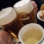 本格タイ料理 バンセーン - ビール&ウーロン茶