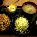伝説のすた丼屋 - レディースセット!(2015,02/08)