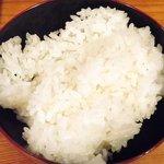 鶴我 - 極上赤身 馬刺膳(並) 500円 のご飯