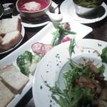 イタリア食堂GiGi - くつろげるし、美味しいしで、良い店です