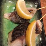 魚串さくらさく - 炙りシメサバ好きです