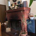 ブラマソーレ - 2015/02 店内 暖炉