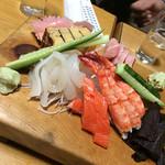 高長寿司 - 刺し盛り
